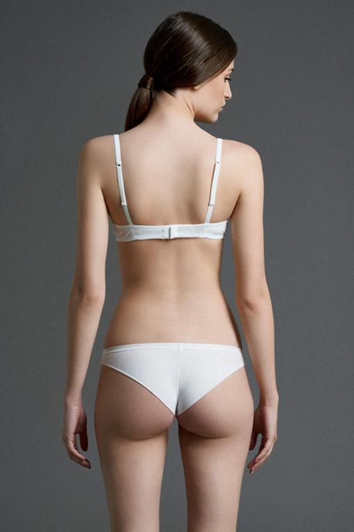 intimo donna bianco, lingerie di lusso, reggiseno super push up bianco, nero