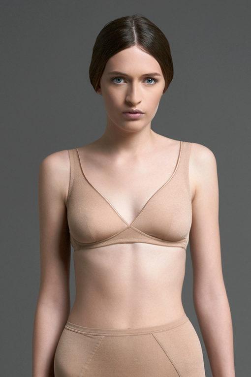 DESIGN COLLECTION - PLATINO/B - NUDO CONTINUATIVO- reggiseno paladini lingerie