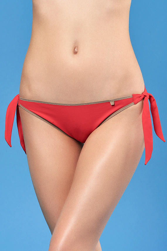 PALADINI COUTURE BEACHWEAR SS17 - ARIEL - ROSSO LACCA