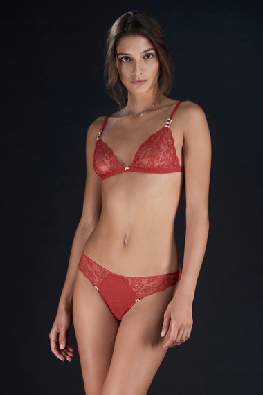 PALADINI COUTURE UNDERWEAR FW17 - CANDLE/B - ROSSO