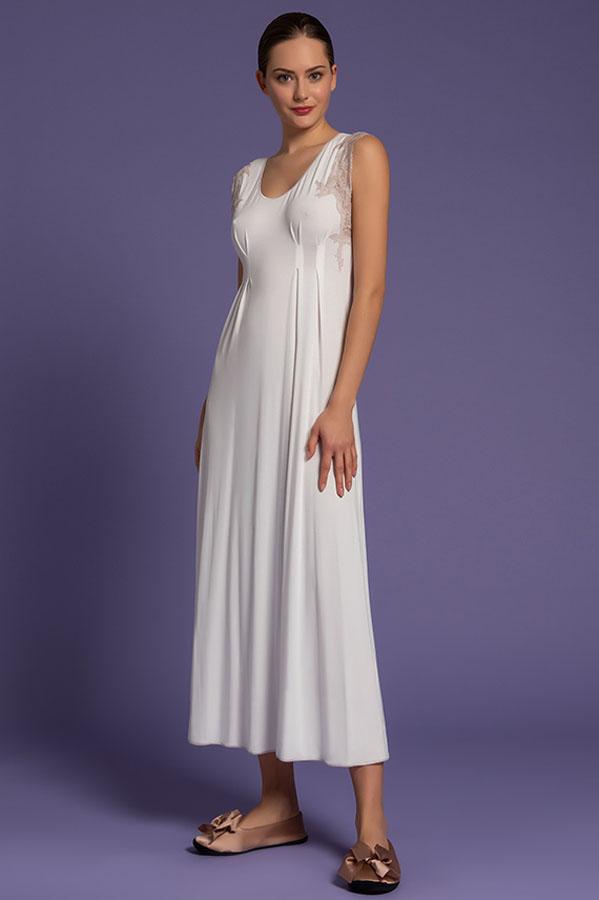 Camicia da Notte Lunga, paladini lingerie, intimo notte da donna, intimo femminile di lusso, intimo donna elegante, long nightgown, women's nightwear