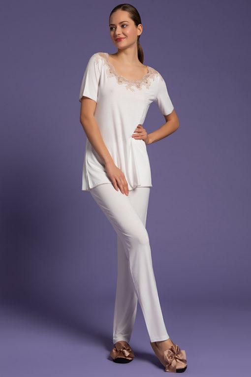Pigiama Pantalone Lungo, intimo femminile di lusso, paladini lingerie, lingeria, pigiama da donna elegante