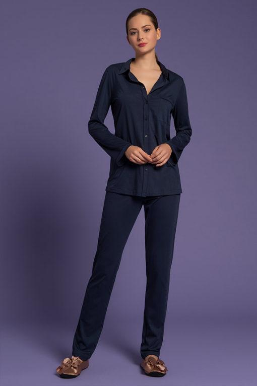 pigiama pantalone lungo da donna, intimo di lusso, paladini lingerie, lingeria