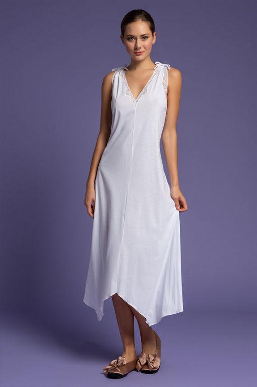 Long Nightgown, intimo femminile di lusso, paladini linegerie. online shop, camicia da notte lunga, italian lingerie, lingeria, intimo donna